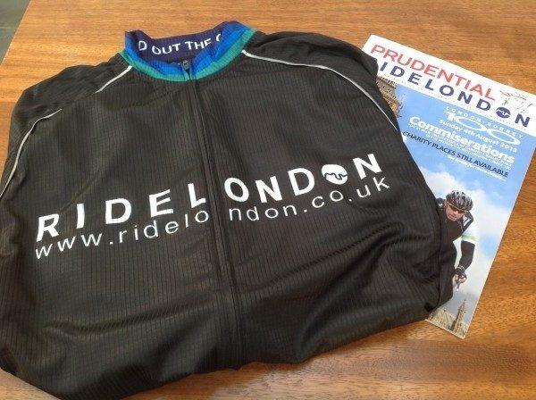 RideLondon cycling jersey