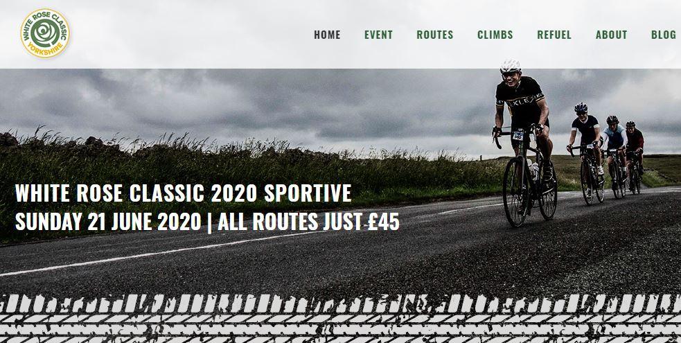 White Rose Classic sportive website